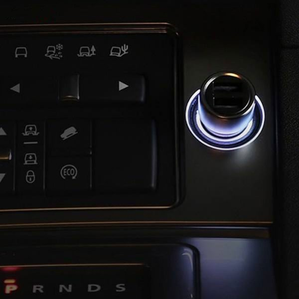 فروش شارژر فندکی یو اس بی و تایپ سی ۱۰۰ وات شیائومی -Mi 100W Car Fast Charger