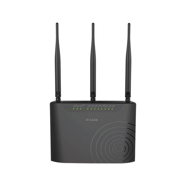 فروش مودم دی لینک مدل Dual Band 11ac ADSL2+ Four Port Wireless Router DSL-2877AL