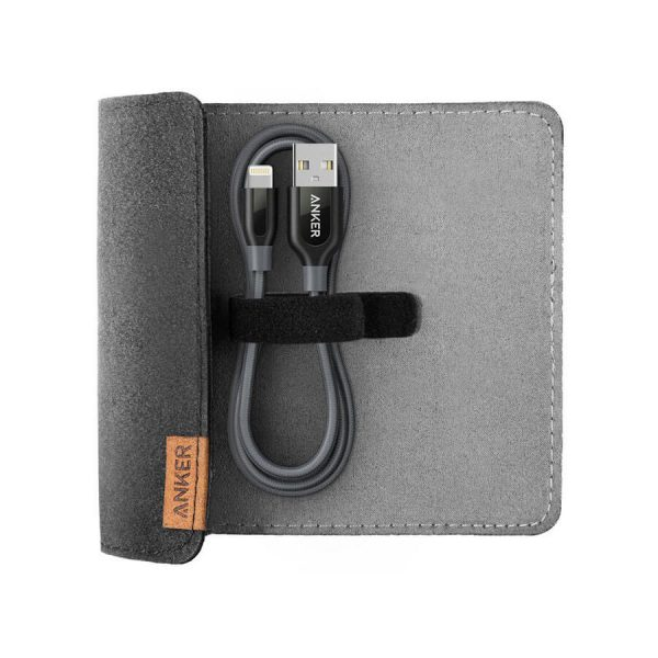 خرید کابل تبديل USB به لايتنينگ انکر مدل PowerLine+3ft طول 90 سانتی متر PowerLine+3ft Lightning