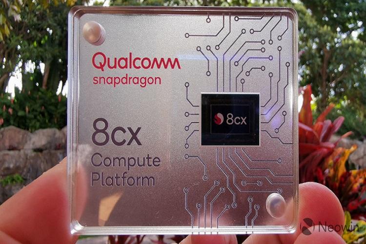 آشکار شدن پردازنده نسل جدید Snapdragon 8cx کوالکام در گیک بنچ
