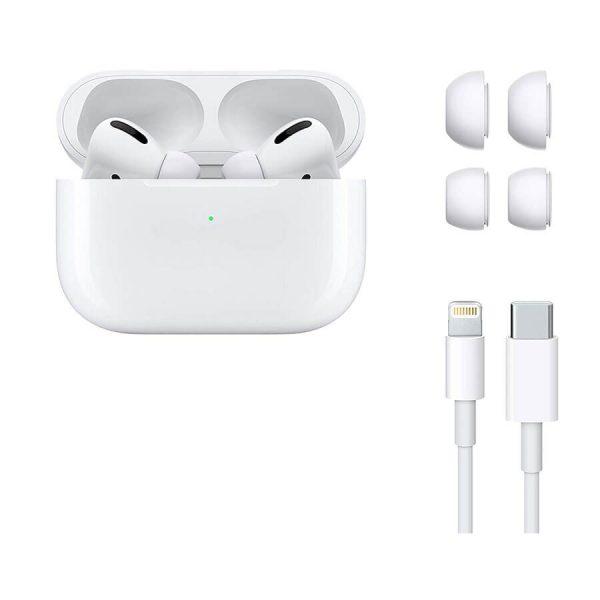هدفون بی سیم اپل مدل AirPods Pro همراه با محفظه شارژ Apple AirPods Pro Wireless Headphones with Charging case