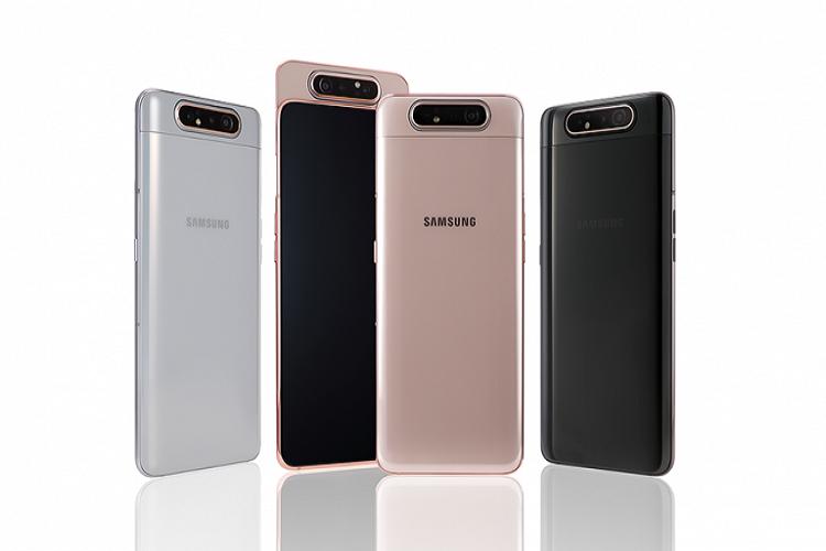 Galaxy A82 سامسونگ از تراشه جداگانه برای رمزگذاری و دوربین 64 مگاپیکسل برخوردار است