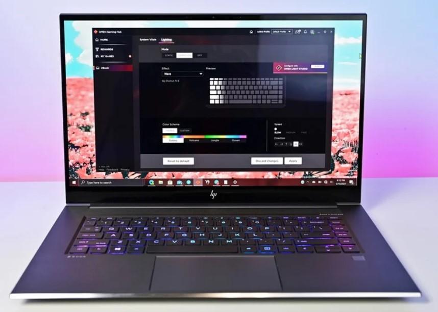 اچ پی و معرفی لپ تاپ ZBook Studio G8