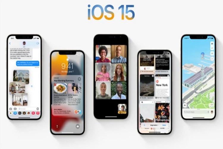 اسامی دستگاه های دریافت کننده iOS 15 منتشر شد