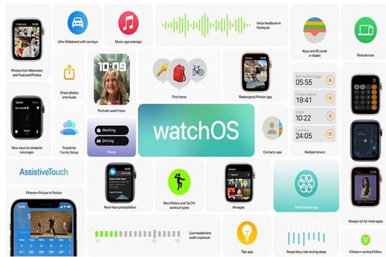 اپل و رونمایی از سیستم عامل WatchOS 8