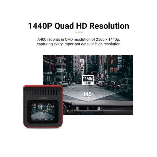 70mai A400 Dual Channel Car Dash Cam,