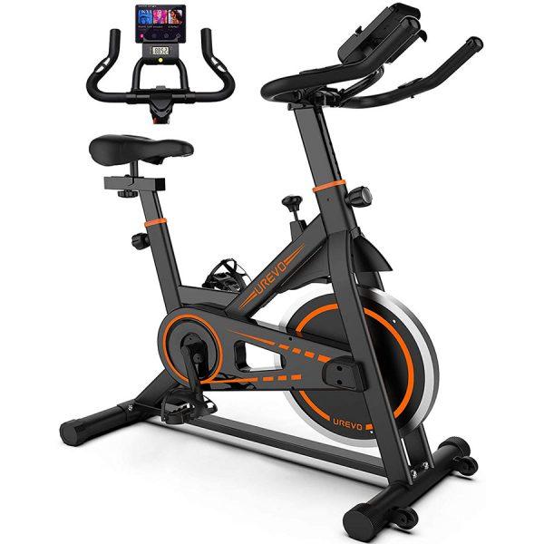 UREVO Indoor Cycling Bike Stationary,Exercise Bike