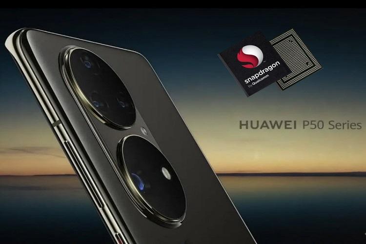 هوآوی پردازنده اسنپدراگون در سری P50 استفاده می کند