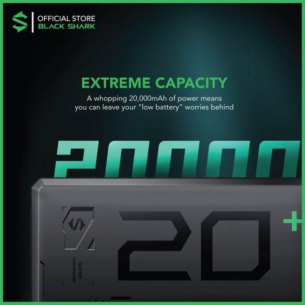 Black Shark Fast Charge Power Bank (20000mAh)