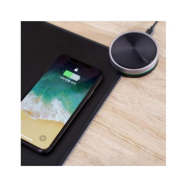 موس پد شیامی miiiw smartpad با قابلیت شارژ وایرلس گوشی. ولوم بلوتوث.