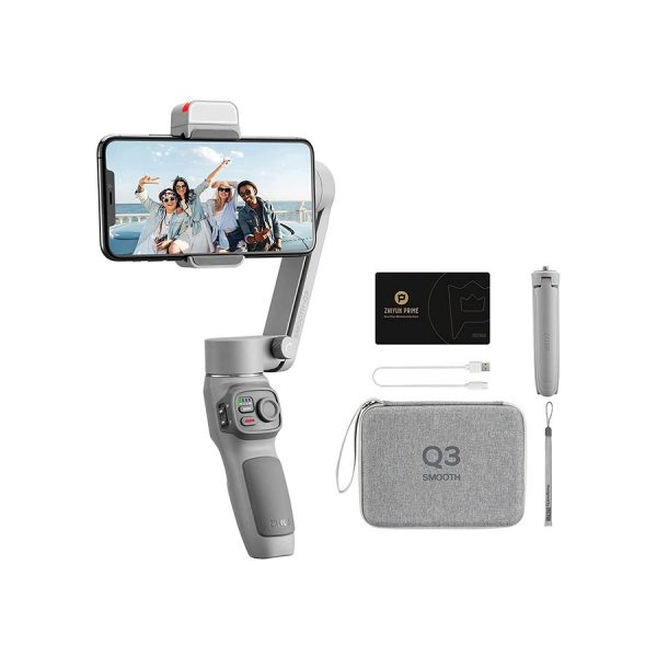 Zhiyun Smooth Q3 Combo, 3-Axis Gimbal Stabilizer for Smartphone